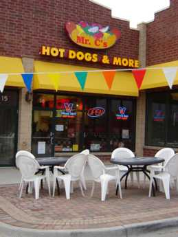 mr c 39 s hot dogs restaurant location map. Black Bedroom Furniture Sets. Home Design Ideas